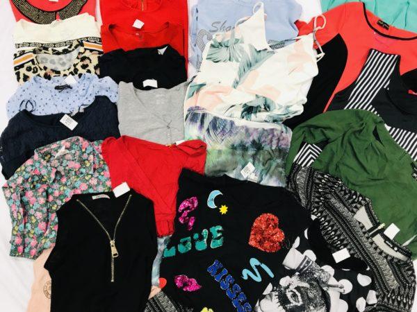 Bluzki MIX odzież używana