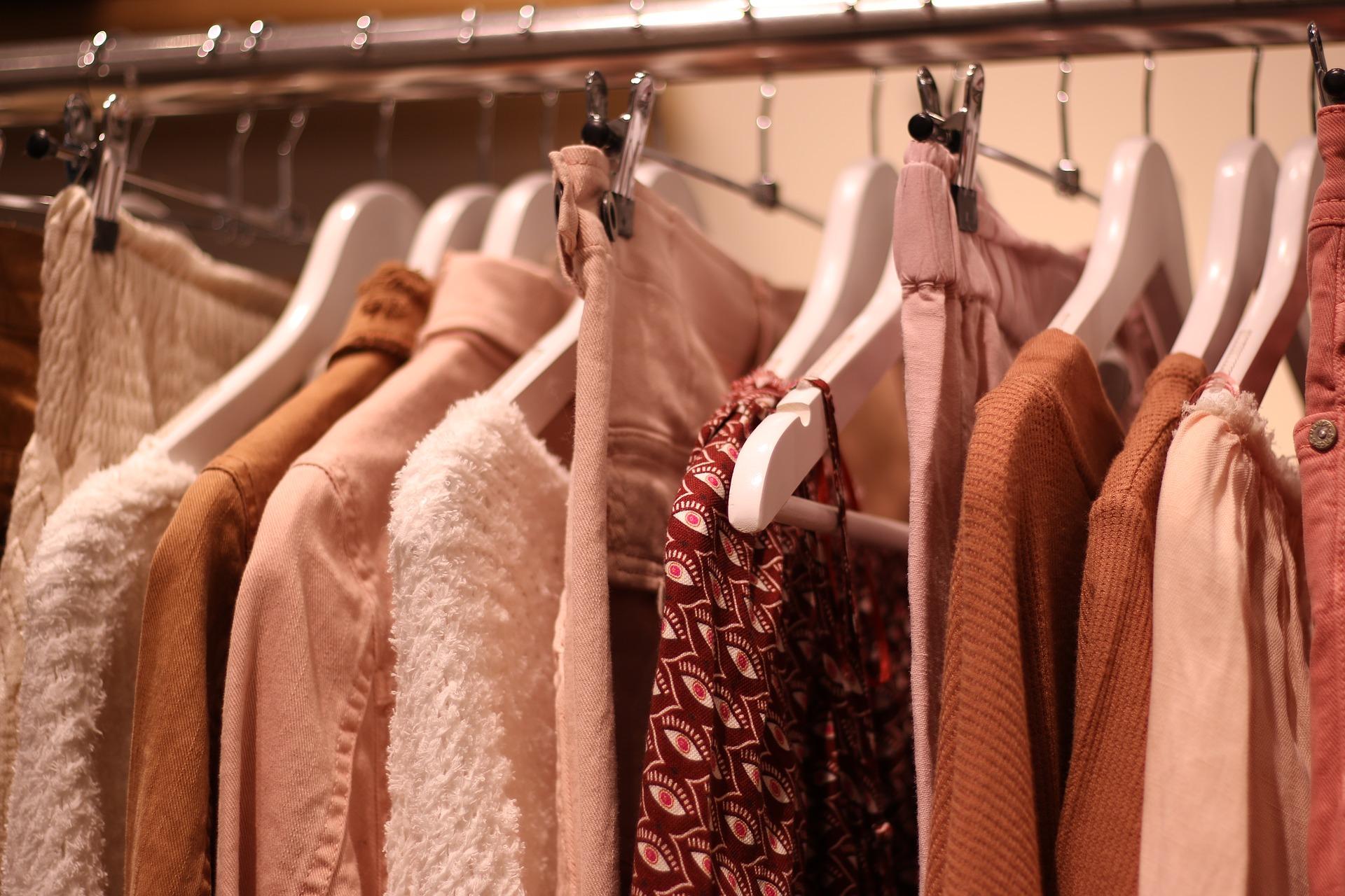 second-hand ubrania